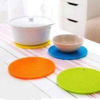 Silikon Anti Rutsch Pad Tabelle Wabenform Abreinigbare Insulated Platten Mat Neu