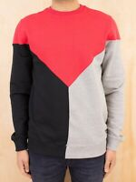 Iuter Vee Red Sweatshirt BRAND NEW With Tags Mens Clothing Sweatshirt Red Grey