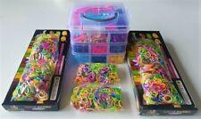 Loom Bands Set mit ca. 6200 Gummibänder - Box - Mix Looms - Webrahmen (E1)