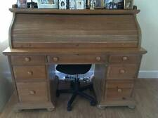 Broyhill Fontana Rolltop Desk Distressed Pine Pick Up West Palm Beach