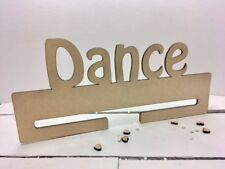 Dance Medal Holder - 4mm MDF Wooden Craft Blank