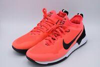 Nike FC REACT Soccer Running Training Shoe Solar Red / White Mens Size 9.5 NEW