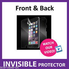 iPhone 6 INVISIBLE Screen Protector Shield - Full Body FRONT AND BACK Protection