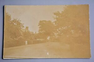 R&L Postcard: Faded Real Photo of Lincolnshire, Possibly Kyme