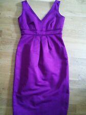 BNWT M&S 'Autograph' Purple Shift Dress Size 10 £49.50