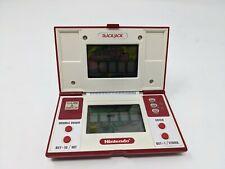 Nintendo Blackjack Game & Watch Handheld Electronic LCD Multi-Screen 1985 BJ-60