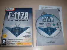 ✈ F-117A Nighthawk Stealth Fighter ~ Flight Simulator X FS2004 FSX Add-on très bon état