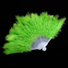 1 Pcs Fluffy Burlesque Wedding Showgirl Hand Fancy Costume Dance Feather Fan