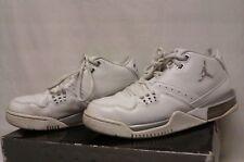 4bcecda942a7 Nike Air Jordan Flight 23 stealth white metallic silver white size 8