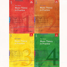 Eric Taylor Music Theory in Practice 4 Books Collection Set Grade 1 2 3 4