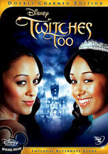Twin Witches Tia & Tamera Mowry Disney Channel Halloween Movie Twitches Too DVD