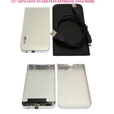 2.5 Inch SATA Enclosure External Case USB 2.0 For Notebook Laptop Hard Disk
