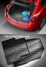 Mazda 3 (5-door)  Mazda Cargo Tray with  All-Weather Floor Mats 2014-2017