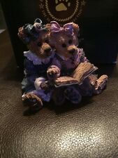 """Boyds Bears Bailey & Becky """"The Diary"""" statue collectible"""