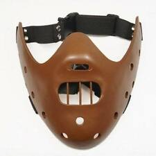 T06 Cool The Silence of the Lambs Hannibal Lecter Mask Halloween Cosplay Mask