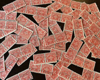 1930 $1 POSTAGE DUE STAMPS HUGE INVESTOR'S LOT OF STRIPS AND PAIRS