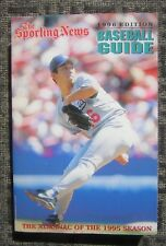 1996 The Sporting News Baseball Guide - Los Angeles  Dodgers Hideo Nomo Cover