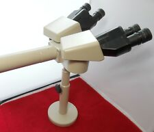 Nikon Teaching Dual Head Microscope Bridge Arm w/ Stand and Teaching Head