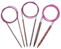 "KnitPro Symfonie Wood Fixed Circular Knitting Needles - 100cm 40"" Knitters Pride"