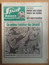 SPORT MAGAZIN KICKER 1A-2.1. 1968 * Torhüter 4-Schanzentournee Eishockey Wirkola