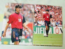 Jose Perez CAMINERO Athletico Madrid & Spain Euro 96 FOOTBALL Press Photos