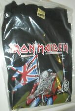 Vintage T Shirt Iron Maiden 80s The Trooper 1984 Iron Print M Large Powerslave