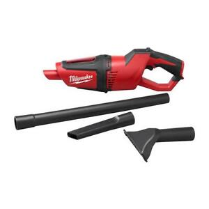 Milwaukee Cordless Vacuum 12V Lithium-Ion Extension Wand Crevice Tool Tool-Only
