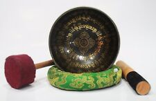 HEALING HANDMADE SINGING BOWL NEPAL TIBET FOR MEDITATION AND RELAXATION 14.5 CM