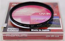 Marumi UV & IR Cut 67mm Screw-in Filter. Made in Japan