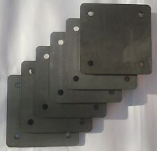 6 Roll Cage Footplates: Strengthening, Mounting, Fabrication (163x163x6)(3025-6)