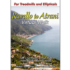 RAVELLO, ITALY TREADMILL WALK DVD SCENERY VIDEO : LOW IMPACT EXERCISE FITNESS !
