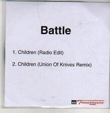 (CS660) Battle, Children - DJ CD