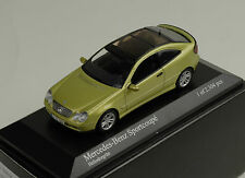 Mercedes-Benz C Class Klasse C203 Sportcoupe 2000 light green  Minichamps 1:43