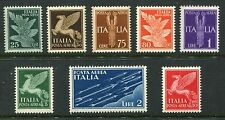 ITALY 1930-32 AIR MNH Set 8 TIMBRI
