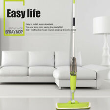 360° Microfiber Spray Mop Cleaner Wet Hardwood Floor Kitchen Dust Sweeper-^