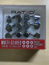 Graphtech PRL-8411-C0 Chrome Ratio Locking Acoustic Tuners