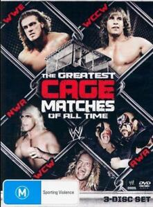 WWE - The Greatest Cage Matches Of All Time (DVD, 2011, 3-Disc Set) - Region 4