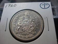 1960 - Canada 50 cent - Circulated Canadian half dollar - Nice Coin -