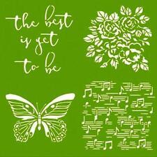 Green Scrapbooking Templates & Stencils