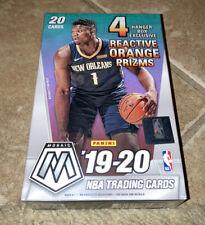 2019-20 Panini Mosaic Nba Basketball Trading Cards Hanger Box Factory Sealed