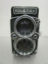 Vintage Rolleiflex DBP DBGM Twin Lens Camera