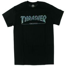Thrasher Magazine X Gx1000 Collab Skateboard Shirt Black Small