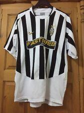 JUVENTUS FOOTBALL SHIRT, Nike, Fastweb, UFFICIALE JUVENTUS Camicia da uomo taglia XL