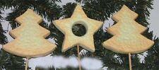 3 x MEGA Weihnachts DEKOstecker 10x11x30cm Floristenware zum Sonderpreis 3079