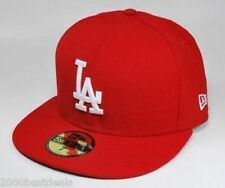 sports shoes b35fb 829d5 Los Angeles Dodgers Basic Scarlet 59fifty Fitted Cap