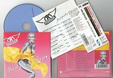AEROSMITH - Just Push Play - 2001 Japan obi + b/t
