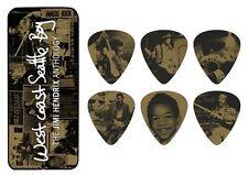 Jimi Hendrix Guitar Picks Collectible West Coast Seattle Boy with Picks Dunlop