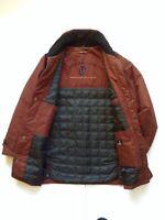 Mens Baracuta Maroon Burgundy Coat Jacket  Outdoor Walking Farmer Size Large