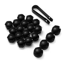 17mm Black Wheel Nut Deep Cover Bolt Cap For VAUXHALL ASTRA CORSA COMBO UK Store