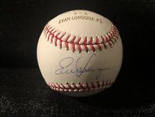 Evan Longoria Signed Tampa Bay Rays 2008 World Series MLB Engraved Baseball